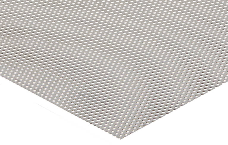 aluminum perforated