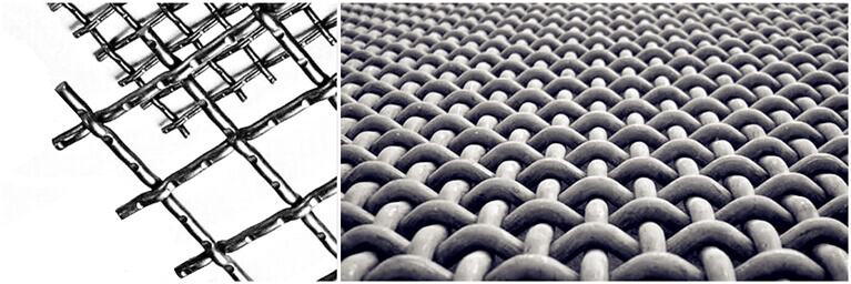 crimped wire mesh designs