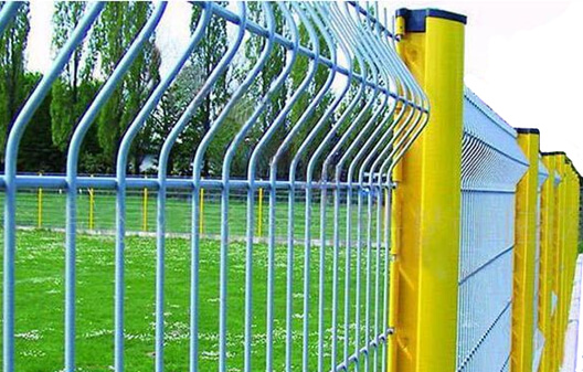 fence with PVC coated