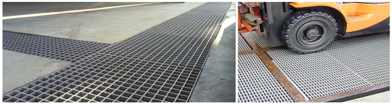 heavy duty grating floor