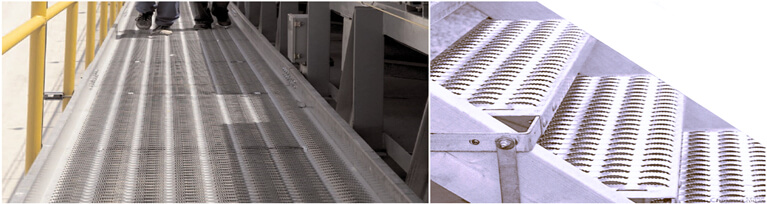 safety grating walkway