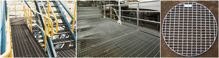 steel bar grating application
