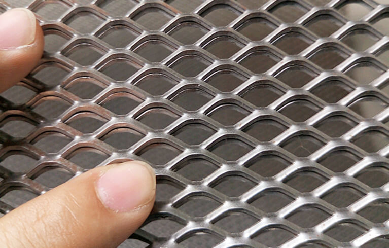 Stainless steel expanded metal mesh ss