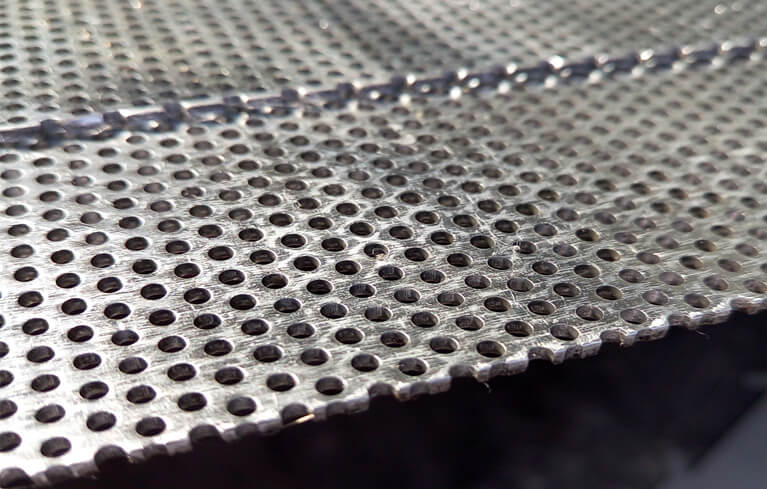 galvanized perforated sheet metal