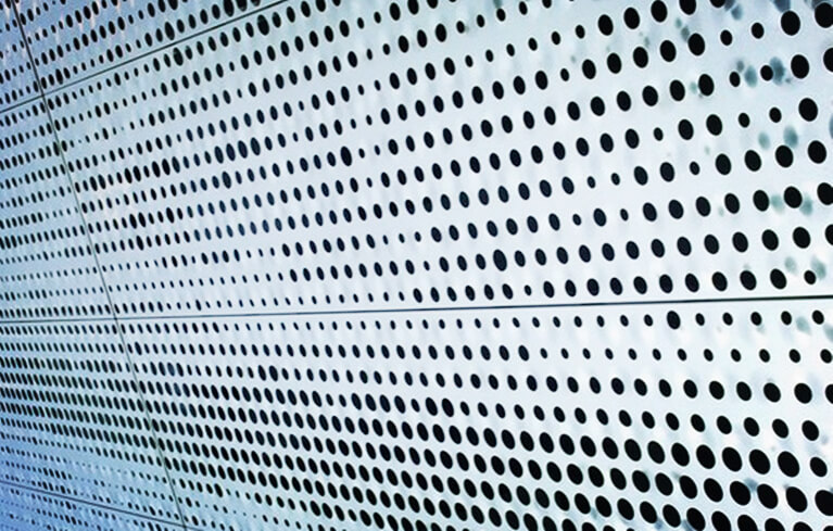 perforated aluminum ceiling panels