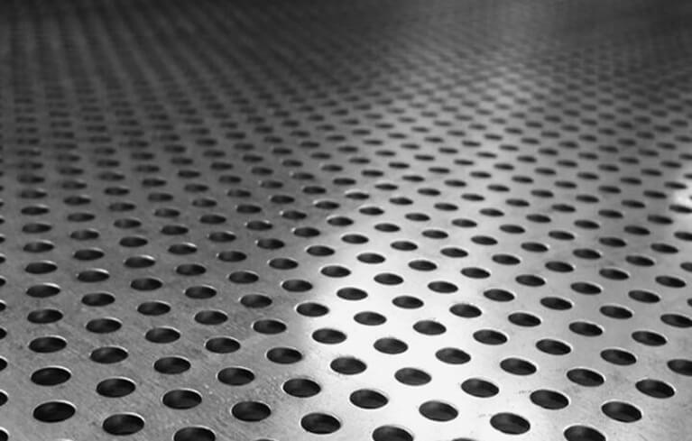 perforated decorative metal
