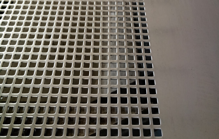 perforated metal doors