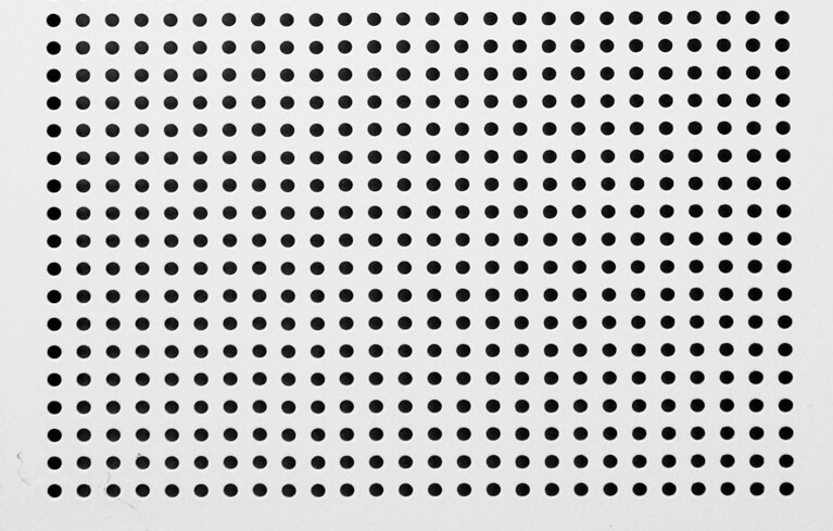 perforated sheet weight