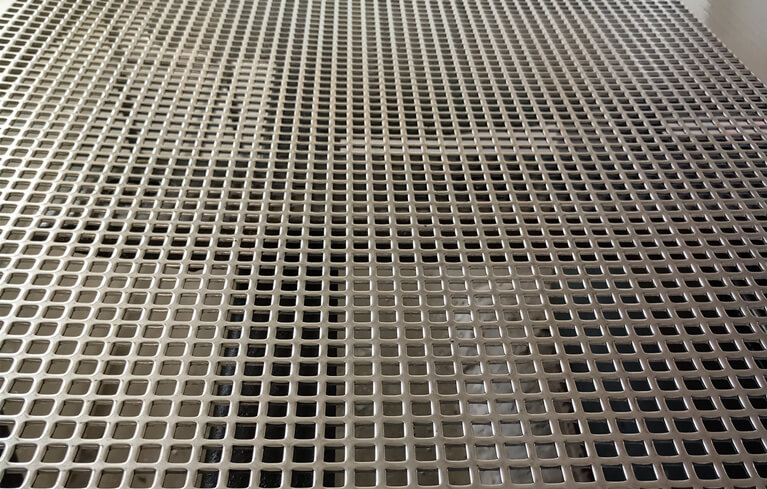 punching steel plate