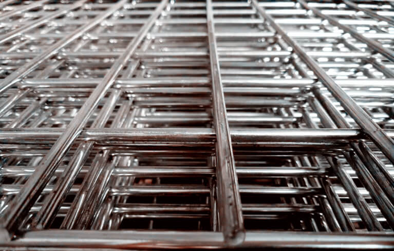 wire mesh sheets size