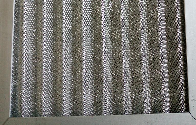 aluminum mesh air filter