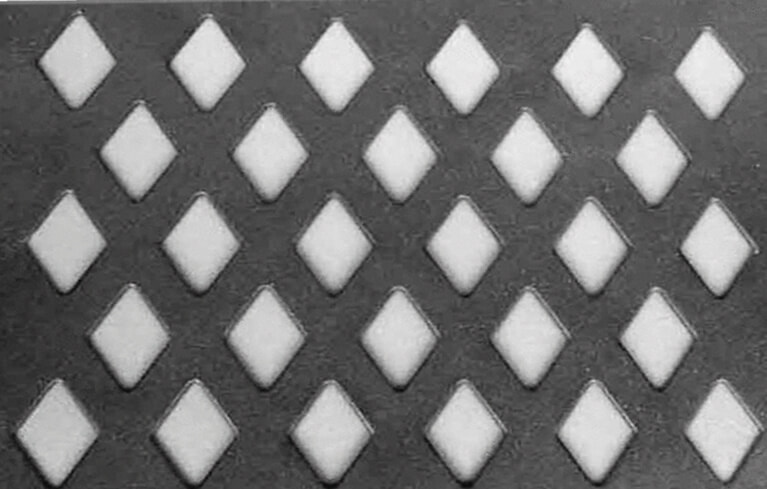 diamond perforated sheet metal