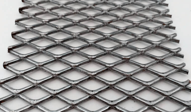 expanded metal security mesh