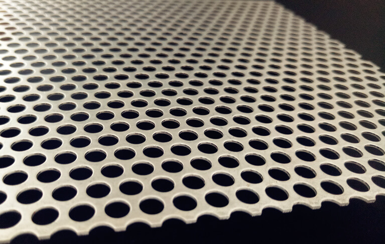 mesh aluminum sheet