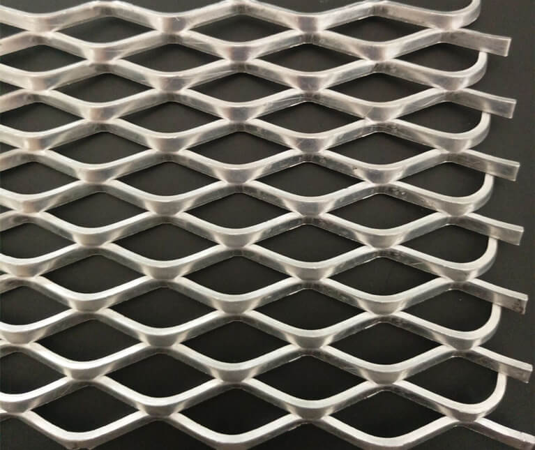 stainless expanded mesh