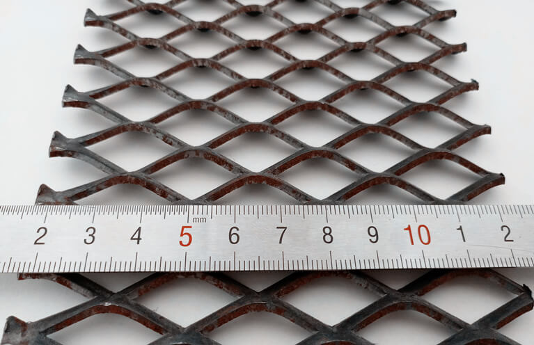 steel diamond mesh sheets