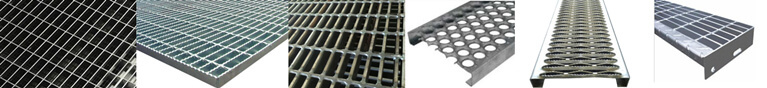 all kinds of steel grating