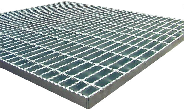 galvanized serrated grating