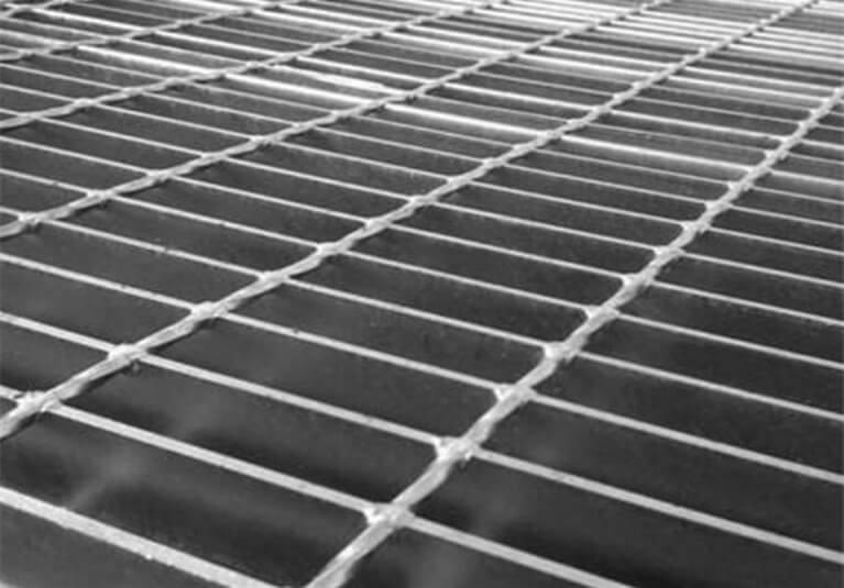 steel grate floor