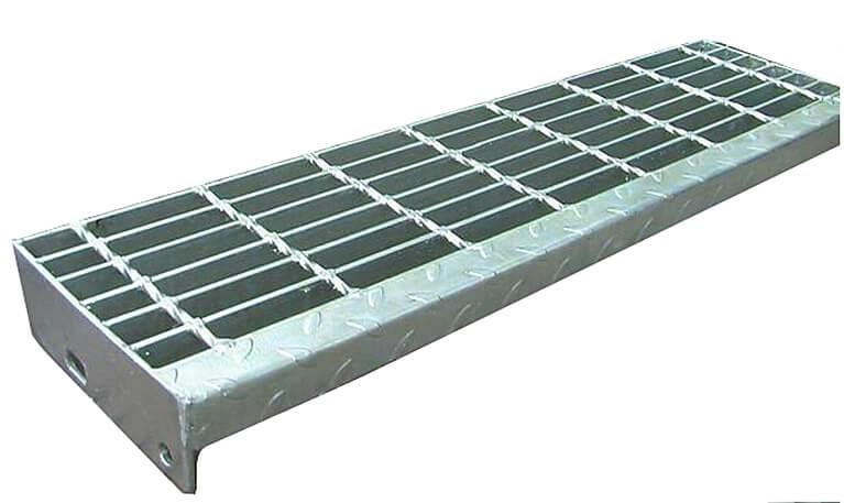 steel grating stairs