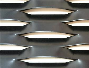 diamond metal mesh ceiling