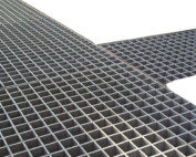 galvanised floor grating